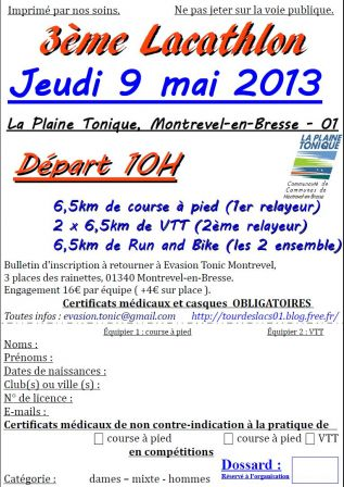 Flyer d'inscription en JPEG